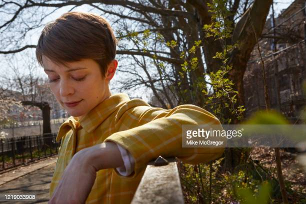 Author Emily St John Mandel is photographed for The Observer on February 16 2020 in New York City PUBLISHED IMAGE