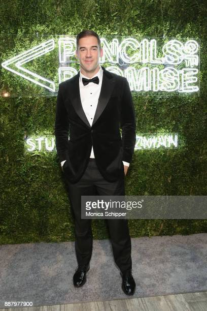 Author entrepreneur and Philanthropist Award Honoree Lewis Howes attends the Pencils of Promise Annual Gala 2017 in Central Park on December 7 2017...