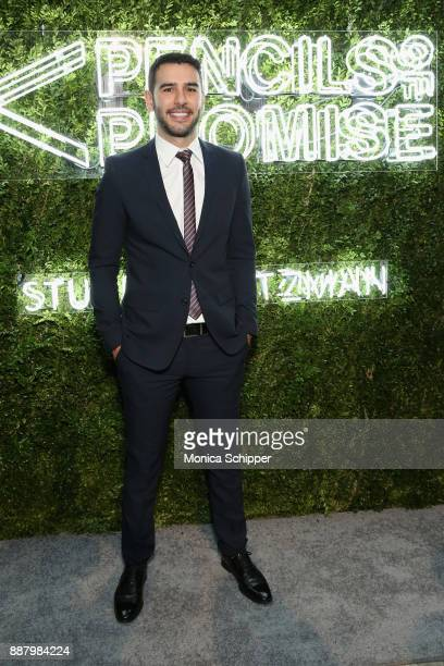 Author entrepreneur PoP Founder Adam Braun attends the Pencils of Promise Annual Gala 2017 in Central Park on December 7 2017 in New York City