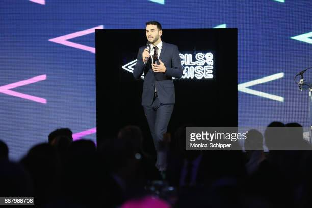 Author entrepreneur PoP Founder Adam Braun speaks onstage at the Pencils of Promise Annual Gala 2017 in Central Park on December 7 2017 in New York...