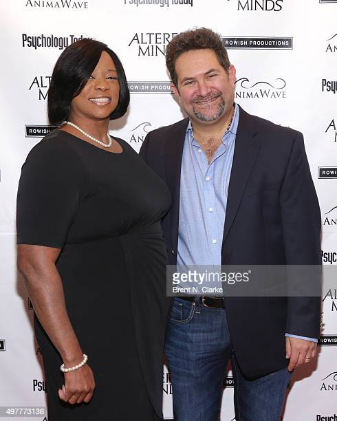 "Author Evie T. McDuff and director Michael Z. Wechsler attend the New York premiere of ""Altered Minds"" held at the Helen Mills Theater on November..."