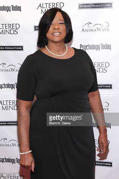 "Author Evie T. McDuff attends the New York premiere of ""Altered Minds"" held at the Helen Mills Theater on November 18, 2015 in New York City."