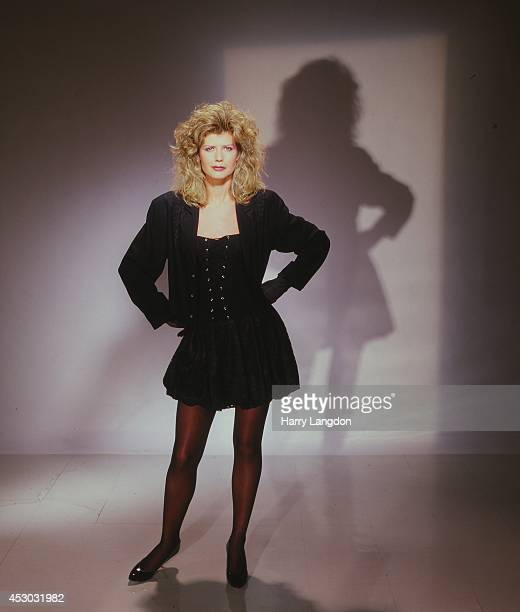 Author Fawn Hall poses for a portrait in 1987 in Los Angeles California