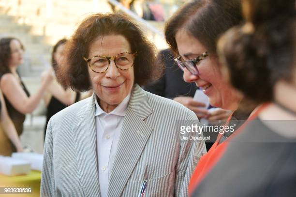 Author Fran Lebowitz attends Lincoln Center's American Songbook Gala at Alice Tully Hall on May 29 2018 in New York City