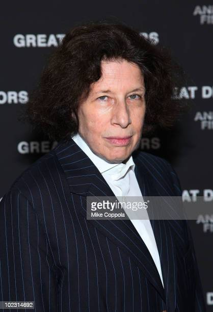 Author Fran Lebowitz attends the premiere of Great Directors premiere at The Museum of Modern Art on June 22 2010 in New York City