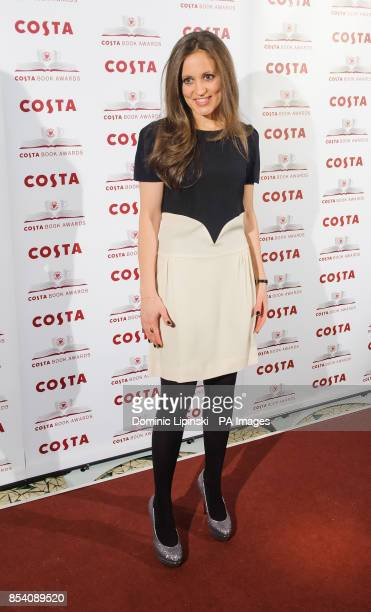 Author Francesca Segal winner of the Costa First Novel Award for 'Innocents' attends the Costa Book Awards 2013 at Quaglino's in central London PRESS...
