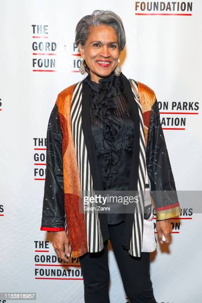 Author Gail Milissa Grant attends The Gordon Parks Foundation 2019 Annual Awards Dinner And Auction at Cipriani 42nd Street on June 04 2019 in New...