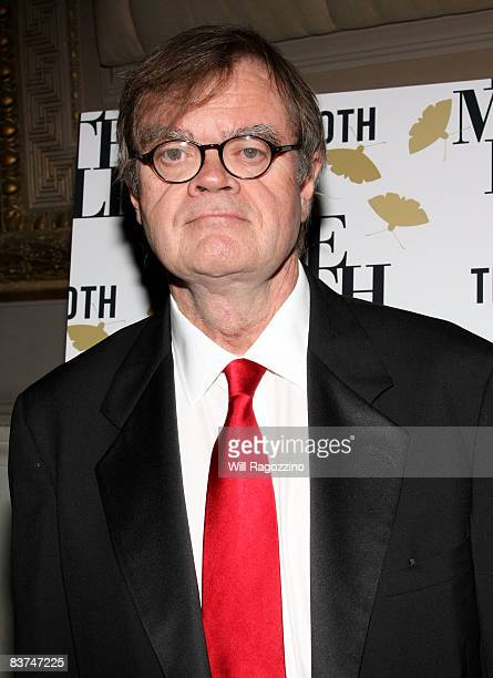 Author Garrison Keillor attends the annual Moth Ball literary and charity event at Capitale November 18 2008 in New York City
