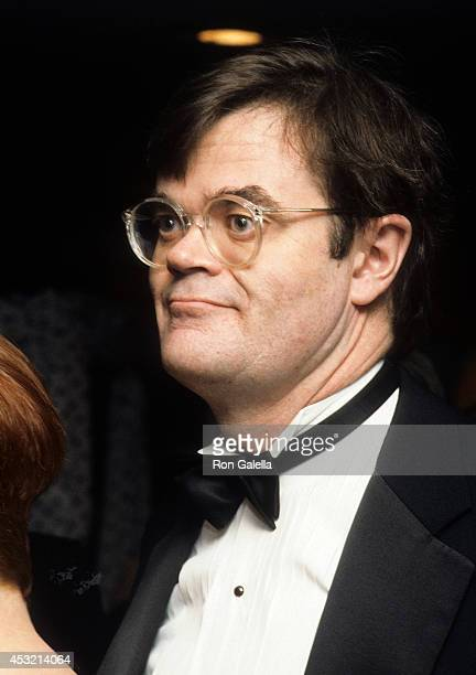 Author Garrison Keillor attends the Fourth Annual PEN American Center Montblanc Literary Gala on April 4 1990 at the Roseland Ballroom in New York...