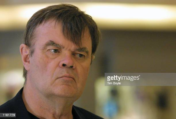Author Garrison Keillor takes abreak from signing copies of his new book 'Lake Wobegon Summer 1956' at a Waldenbooks store September 5 2001 in...