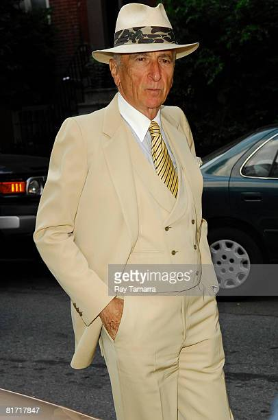 Author Gay Talese attends the Reception for Gonzo The Life And Work Of Dr Hunter S Thompson at Ye Waverly Inn on June 25 2008 in New York City