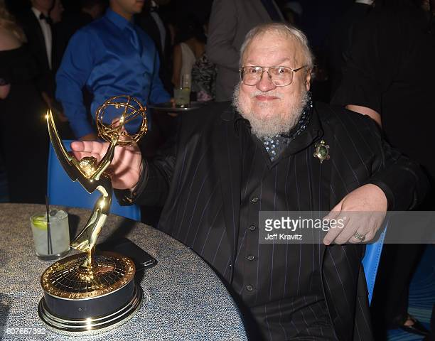 Author George R. R. Martin attends HBO's Official 2016 Emmy After Party at The Plaza at the Pacific Design Center on September 18, 2016 in Los...