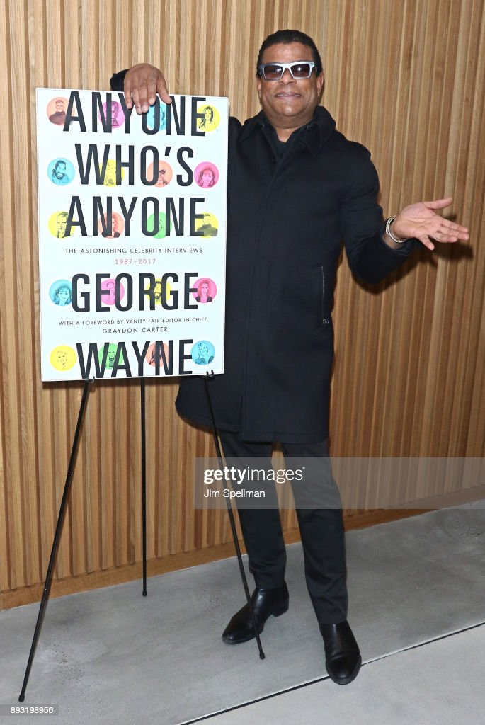 "George Wayne Celebrates Launch Of New Book ""ANYONE WHO'S ANYONE: The Astonishing Celebrity Interviews 1987- 2017"""
