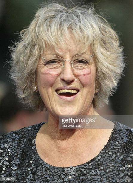 Author Germaine Greer attends the 15th annual British Book Awards also known as the Nibbies at Grosvenor House Park Lane on April 7 2004 in London...