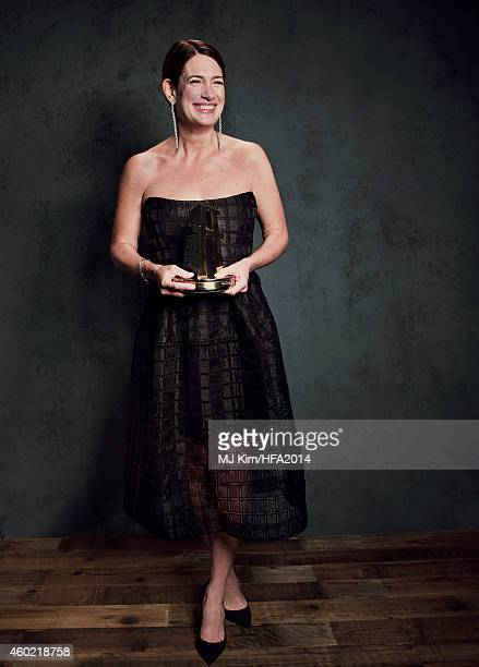 Author Gillian Flynn poses for a portrait at the 18th Annual Hollywood Film Awards on November 14 2014 in Hollywood California