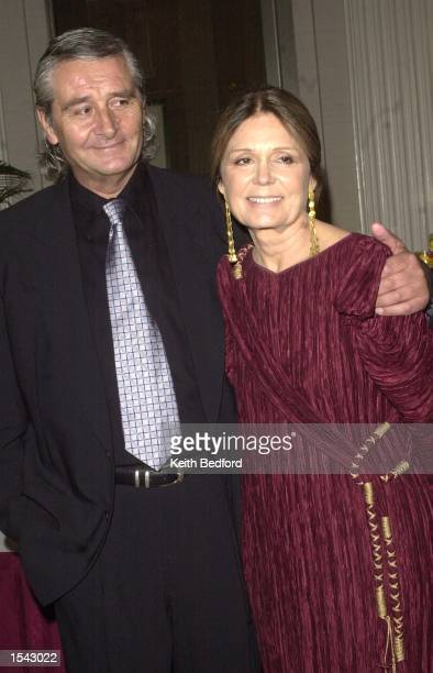 Author Gloria Steinem and David Bale arrive for the Ms Foundation for Women's 14th Annual Gloria Steinem Awards May 16 2002 in New York City