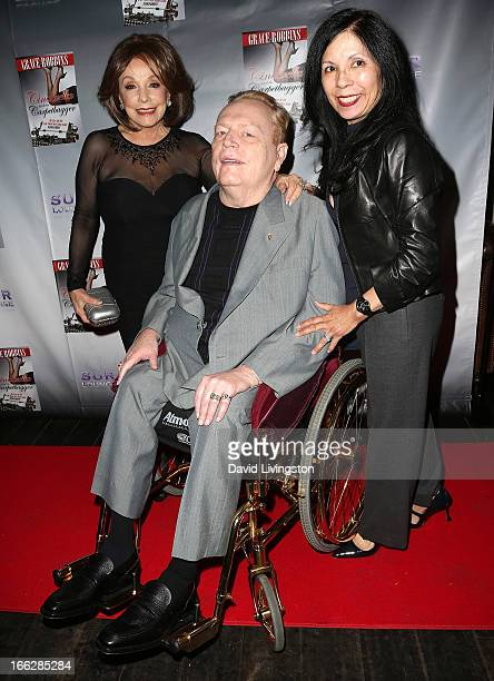 Author Grace Robbins publisher Larry Flynt and wife Elizabeth Berrios attend a book party for Robbins' memoir Cinderella and the Carpetbagger My Life...