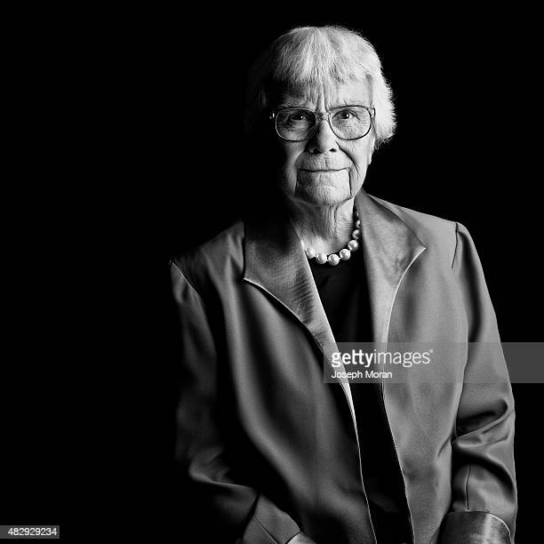 Author Harper Lee is photographed for Self Assignment on March 13 in New York City.