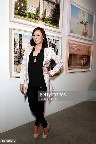Author Heather Fowler attends the Photo Femmes Exhibition Opening at De Re Gallery featuring the work of Ashley Noelle Bojana Novakovic and Monroe at...