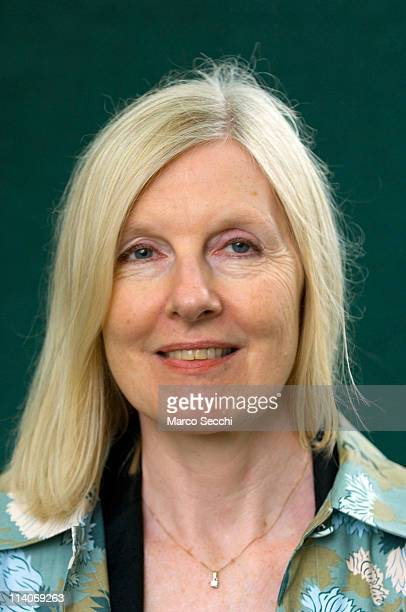 Author Helen Dunmore poses during a portrait session held at Edinburgh Book Festival on August 18 2006 in Edinburgh Scotland