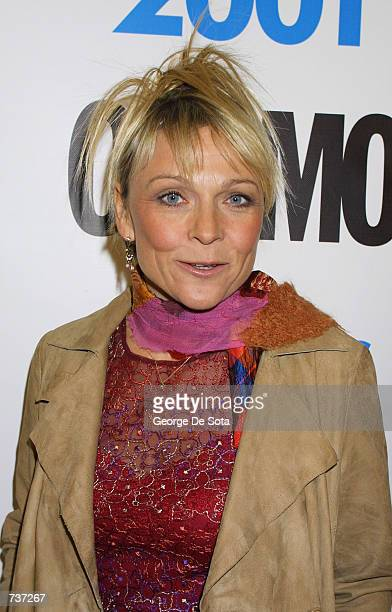 Author Helen Fielding attends the 5th Annual Cosmo Fun Fearless Female Awards luncheon January 29, 2001 at the Metropolitan Pavilion in New York City.