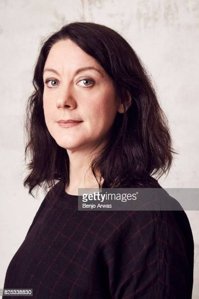 Author Helen Macdonald of PBS's 'H is for Hawk A New Chapter' poses for a portrait during the 2017 Summer Television Critics Association Press Tour...
