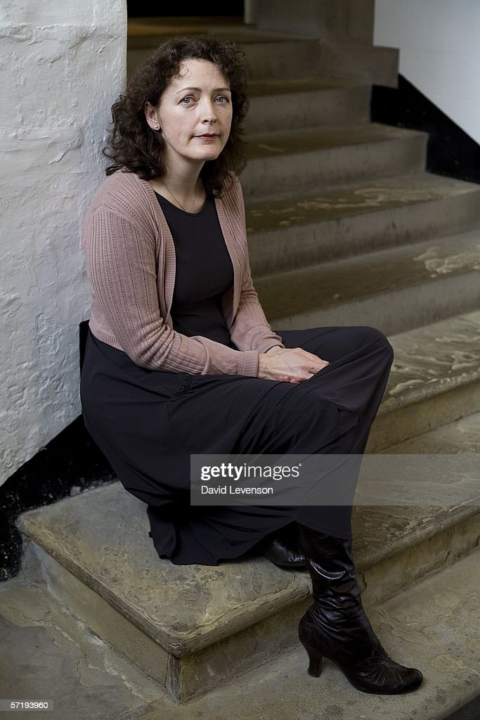 Author Helen Simpson poses for a portrait at the annual Sunday Times Oxford Literary Festival held at Christ Church on March 27, 2006 in Oxford, England. Her latest collection of short stories is 'Constitutional'.