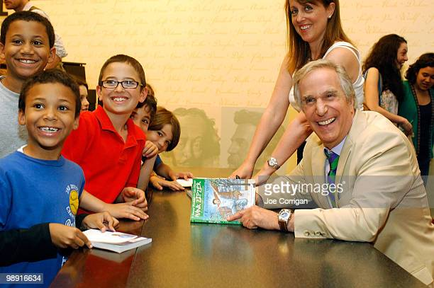 Author Henry Winkler signs copies of his new book A Brand New Me at Barnes Noble Lincoln Triangle on May 7 2010 in New York City