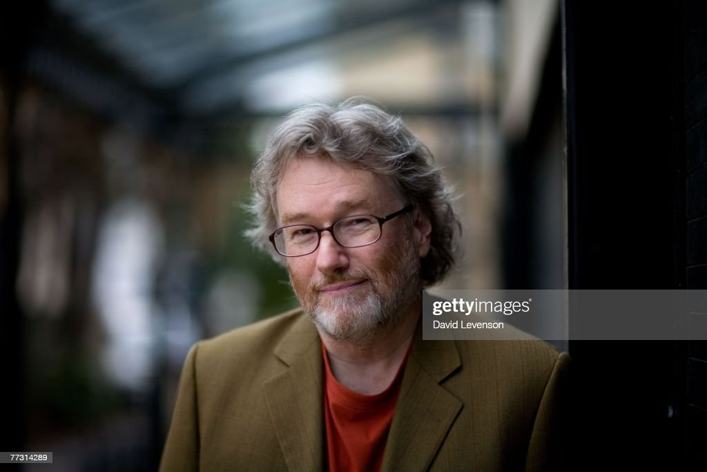 CHELTENHAM, ENGLAND - OCTOBER 13 Author Iain Banks poses for a portrait at the Cheltenham Literature Festival held at Cheltenham Town Hall on October 13, 2007 in Cheltenham, England. His latest novel is 'The Steep Approach to Garbadale'.