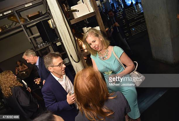 """Author Ian Bremmer and Managing Editor, Time Magazine Nancy Gibbs attend the book party for Bremmer's book, """"Superpower: Three Choices For America's..."""