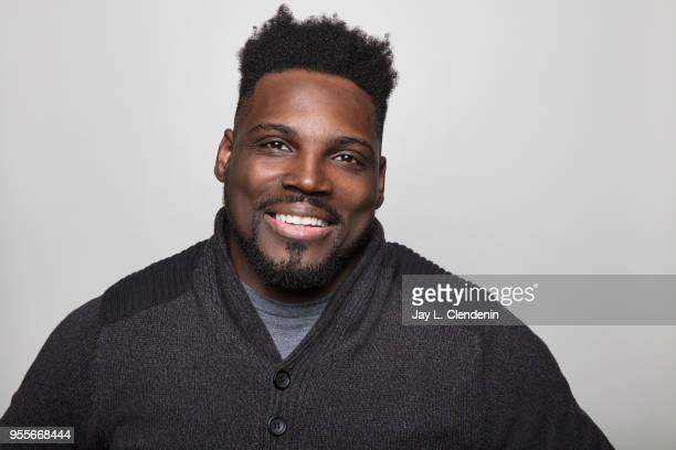 Author is photographed for Los Angeles Times on April 21 2018 in the LA Times Studio at the Los Angeles Times Festival of Books at the University of...