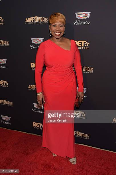 Author Iyanla Vanzant attends the 2016 ABFF Awards A Celebration Of Hollywood at The Beverly Hilton Hotel on February 21 2016 in Beverly Hills...