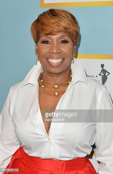 Author Iyanla Vanzant attends the 2016 ESSENCE Black Women In Hollywood awards luncheon at the Beverly Wilshire Four Seasons Hotel on February 25...