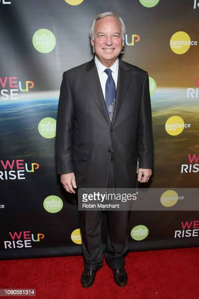 Author Jack Canfield attends the WeRiseUP Launch Event With Kevin Bacon during the 2019 Sundance Film Festival at TAO Nightclub on January 27 2019 in...