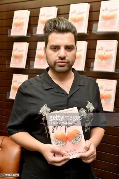 Author Jack Ketsoyan celebrates the release of his new book 'Guilty Pleasure' at Barnes Noble at The Grove on June 12 2018 in Los Angeles California