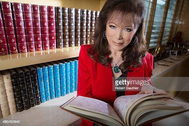 Author Jackie Collins is photographed for Los Angeles Times on January 25 2014 in Los Angeles California PUBLISHED IMAGE CREDIT MUST READ Robert...