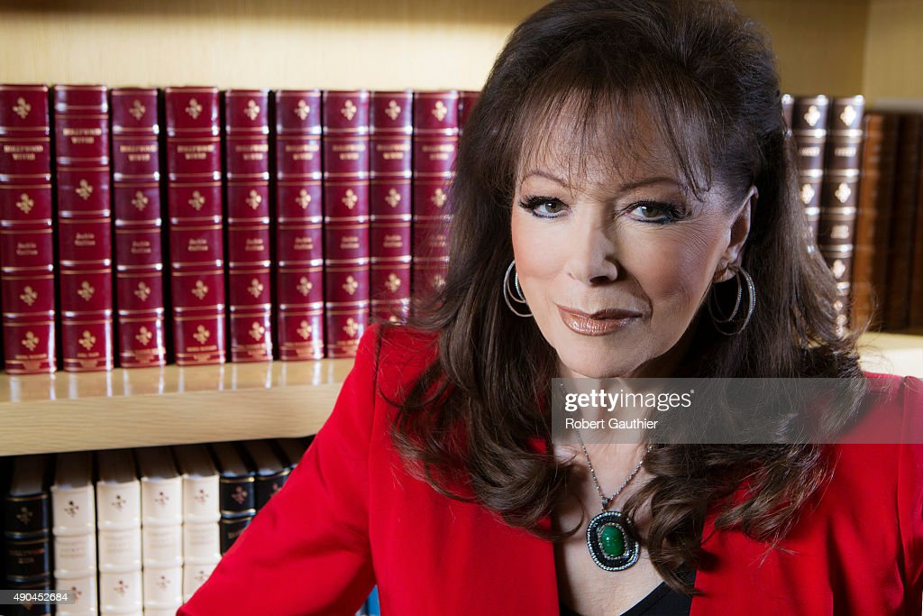 Author Jackie Collins is photographed for Los Angeles Times on January 25, 2014 in Los Angeles, California. PUBLISHED IMAGE.