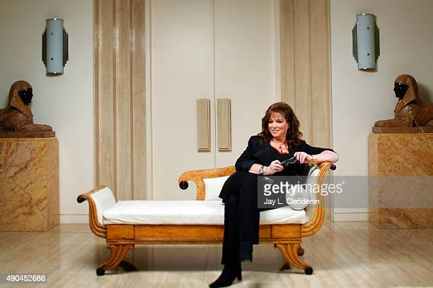 Author Jackie Collins is photographed for Los Angeles Times on May 21 2008 in Los Angeles California PUBLISHED IMAGE CREDIT MUST READ Jay L...