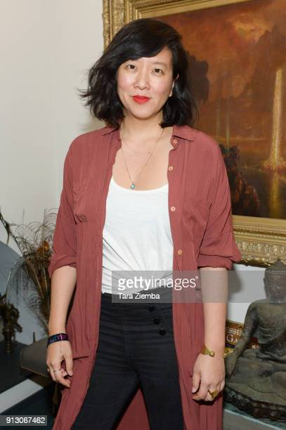 Author Jade Chang attends The Secret Society Of The Sisterhood at The Masonic Lodge at Hollywood Forever on January 31 2018 in Los Angeles California
