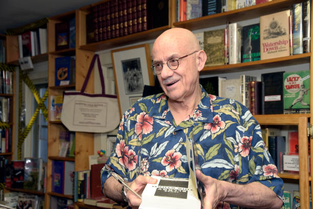 "CA: James Ellroy Signs Copies Of His New Book ""This Storm"""