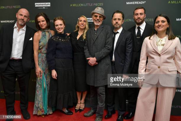 Author James Frey, Juliette Lewis, Odessa Young, director Sam Taylor-Johnson, Billy Bob Thornton, Giovanni Ribisi, Aaron Taylor-Johnson and producer...