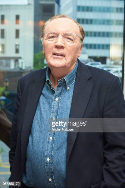 author James Patterson is photographed for Le Parisien Newspaper on May 22 2018 in New York City