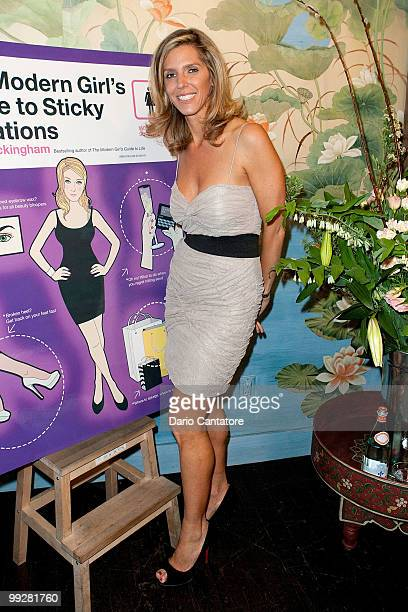 Author Jane Buckingham attends Jane Buckingham's The Modern Girl's Guide To Sticky Situations party at Foley Corinna on May 13 2010 in New York City