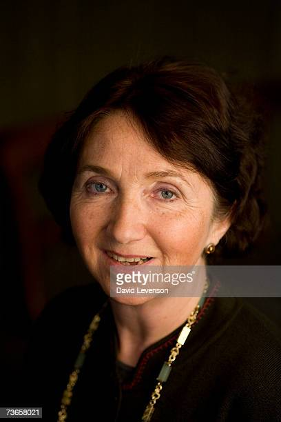 Author Jane Hawking the first wife of Astrophysicist Stephen Hawking poses for a portrait at the annual Sunday Times Oxford Literary Festival held at...