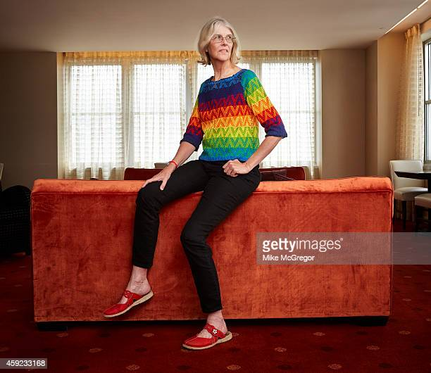 Author Jane Smiley is photographed for The Observer Magazine on October 14 2014 in Philadelphia Pennsylvania