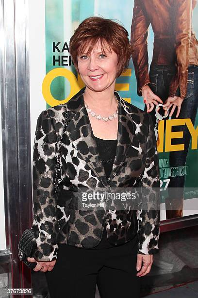 Author Janet Evanovich attends the One for the Money premiere at the AMC Loews Lincoln Square on January 24 2012 in New York City