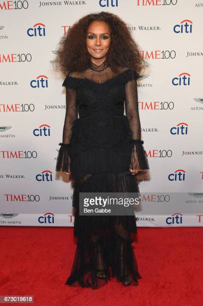 Author Janet Mock attends the 2017 Time 100 Gala at Jazz at Lincoln Center on April 25 2017 in New York City