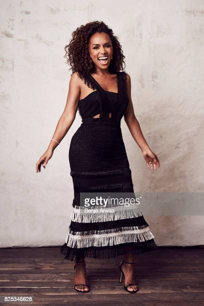 Author Janet Mock of PBS's 'Finding Your Roots' poses for a portrait during the 2017 Summer Television Critics Association Press Tour at The Beverly...