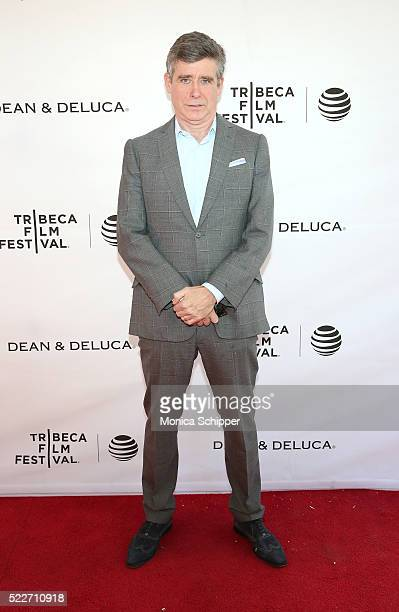 Author Jay McInerney attends Tribeca Talks Storytellers: Francis Ford Coppola With Jay McInerney at SVA Theatre 1 on April 20, 2016 in New York City.