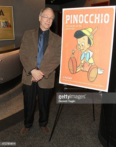 Author JB Kaufman attends The Academy Presents An Animation Showcase From Celluloid to CGI 75th Anniversary Screening Of Pinocchio on May 9 2015 in...